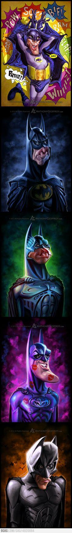 Evolución de Batman