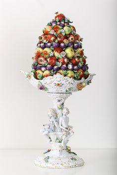 """Fruit Pyramide II"", ANTEMANN DREAMS Collection, H 100 cm"