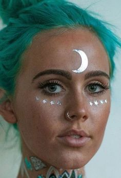 Healthy living at home devero login account access account Makeup Inspo, Makeup Inspiration, Beauty Makeup, Hair Beauty, Alien Halloween, Halloween Makeup, Pintura Facial Neon, Make Up Humor, Rave Hair