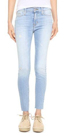 Hudson Nico Mid Rise Ankle Jeans | SHOPBOP