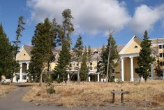 Lake Yellowstone Hotel was completed in 1891 and restored to its 1920s grandeur in 1990. The majestic hotel sits on the shore of Yellowstone Lake and is listed on the Register of Historic Places. The serenity of Yellowstone Lake illuminates through the