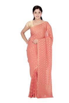 Buy Pure Georgette #Sari @ Rs.6,440.00 And Save Rs.3,540.00 [Original Price: Rs.9,980.00] #FreeShipping #SilkSaree