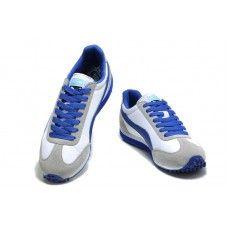 Puma Usain Bolt White Gray Blue Men Running Shoes
