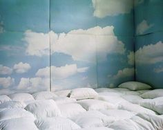 Cloudy. For the fun room.