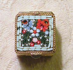 Pill Box Micro Mosaic