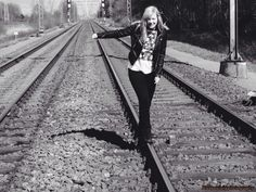 Photoshoot, train rails #ANspeciallyphotography