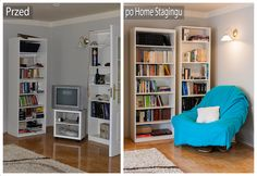 "#homestaging w Krakowie ""before & after"""