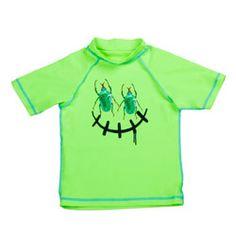 Tiger Joe Buggz Acid Lime SS UV Swim Shirt