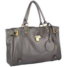 Lucca Glamour Padlock Shopper Zipper Hobo - For Sale