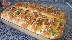 3 Kat Fazla Kabaran Kahvaltılık Tarifi | Renkli Hobi Bread Recipes, Cake Recipes, Cooking Recipes, Turkish Recipes, Ethnic Recipes, Cheese Bread, Hot Dog Buns, Lasagna, Tea Time