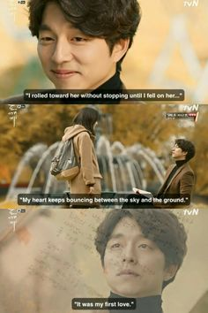 Comic scenes are filled with wits & humor, sad scenes are filled with agony. i fall in love with gong yoo. (and gong yoo became my dream-man) Korean Drama Funny, Korean Drama Quotes, Goblin Kdrama Quotes, Goblin Kdrama Funny, Drama Film, Drama Movies, Kdrama Wallpaper, Goblin The Lonely And Great God, Goblin Korean Drama