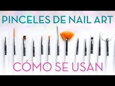 Cómo usar los pinceles de nail art | Tipos y cuidados | Belleza