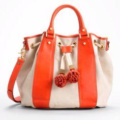 popping pompom purse #PinPantone