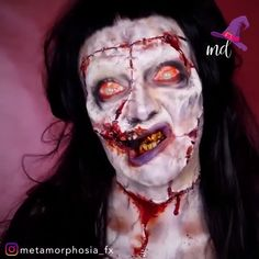 The lady version of Frankenstein's Monster! The skill though! Halloween Make Up, Halloween Face Makeup, Halloween Tutorial, Halloween 2020, Halloween Masks, Halloween Ideas, Braut Halloween, Scary Makeup, Fx Makeup