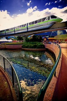 it's the Walt Disney World monorail. I pinned this because hey what can I say I love monorails lol