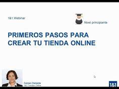 1&1 Webinar: Primeros pasos para crear una tienda online - YouTube