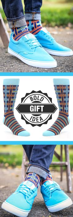 Plaid is as versatile in shirts as it is in socks. These Statement Sockwear navy, pool and orange plaid socks offer sophisticated style that is perfect as a stocking stuffer or holiday gift. Check out these socks and more. c/o Radii Footwear.