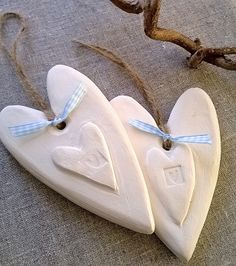Rustic White Clay Heart £7.50                                                                                                                                                                                 More