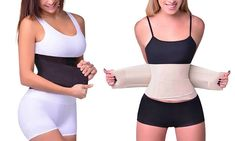 Ever Mercantile Limited: $12 for a Double Compression Waist Body Shaper in Two Colours and Sizes