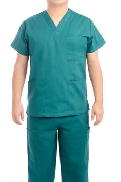 e599abfc101 Hunter Green Medical Scrub Set Scrub Sets, Scrubs Uniform, Elastic Waist,  Medical Scrubs