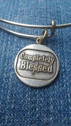 Completely blessed :) alex and ani  bracelet in silver