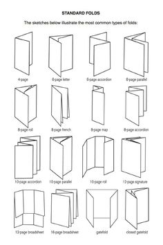 Types of simple folds
