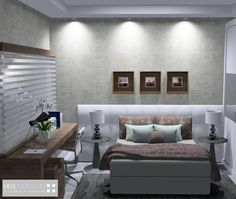 Dormitório do Casal | Arquiteta Iris Schmitt