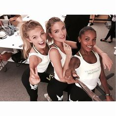 If you're looking to get inspired for ways to break a sweat this summer, look no further than the Victoria's Secret models