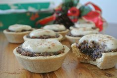 RAW VEGAN MINCE PIES/GLUTEN FREE-DAIRY FREE/ I love the soft, crumbly texture of these Raw Mince Pie crusts, based on a combination of coconut flour and cashews. The recipe calls for a dehydrator to firm the crusts, but you can use your oven too, set to the lowest temperature.