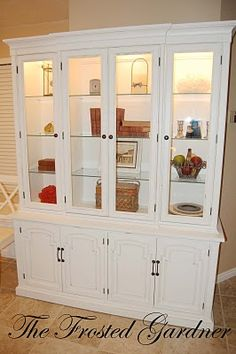 when I muster up the courage to sand down my cherry wood table and china cabinet I want this but scuffed up