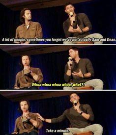 Supernatural - Jared Padalecki and Jensen Ackles