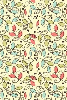 """Pattern Design - """"lovely shade of you"""" by To have a colourlovers pattern printed on f."""