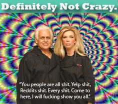 Totally not crazy. nope. not at all. Samy & Amy Bouzaglo aka Amy's Baking Company Bakery Boutique & Bistro