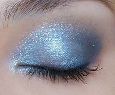 Glacial Eye Makeup Tutorial: Quick Frosted Aqua and Gunmetal Look | by MakeupBox