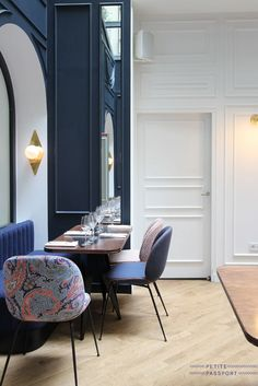 Hotel Bachaumont, Paris | Hotel Interior Design. Hotel Interiors. Hotel Furniture Design. Luxury Real Estate. Modern Interior Design. #hotelinterior #furnituredesign Find more inspiration at: http://brabbucontract.com
