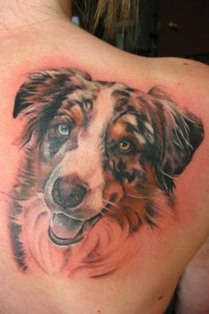 I would so have a tattoo of my boxer put on me.