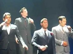 """""""Senza Parole"""" by Il Divo at the Wells Fargo Theater in Denver, CO on August 18, 2012"""