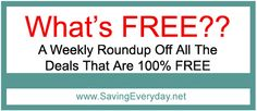 What's Free This Week At Over 15 Stores - http://www.savingeveryday.net/2013/04/whats-free-this-week-at-publix-cvs-dollar-tree-giant-harris-teeter-kroger-target-walgreens-more/