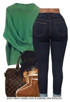 """comfy."" by trinityannetrinity ❤ liked on Polyvore featuring Paul Smith, Louis Vuitton and UGG Australia"