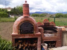 Diy Pizza Oven, Pizza Oven Outdoor, Outdoor Cooking, Outdoor Kitchen Patio, Outdoor Kitchen Design, Pizza Oven Fireplace, Brick Bbq, Outdoor Fireplace Designs, Grill Oven