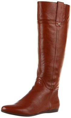 Nine West Women's Watermelon Knee-High Boot,Cognac Leather,5.5 M US >>> Want additional info? Click on the image. #boots
