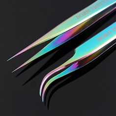 BORN PRETTY Tweezers Straight Curved colorful Stainless Steel Nippers Nail Art Sticker Rhinestone Eyelash Picker Professional Precision Pointed Tweezers for Ingrown Hair Facial Hair Eyebrows Manicure Tools, Diy Manicure, Nail Art Tools, Bright Red Nails, Nail Hardener, Stainless Steel Nails, Types Of Nails, Rhinestone Nails, Nail Stickers