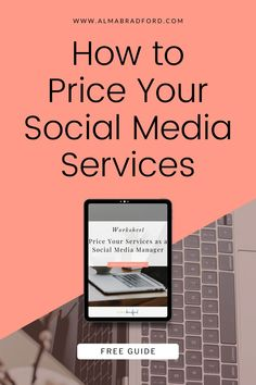 Pricing is super important when selling your social media services to potential clients. If you are trying to grow your business as a social media manager, virtual assistant, or digital marketer, this free template and worksheet for pricing wil give you clarity. Dowload this free worksheet now! #socialmedia #online business Social Media Services, Social Media Content, Social Media Tips, Social Media Marketing, Business Tips, Online Business, Virtual Assistant, Blogging For Beginners, Make Money Blogging