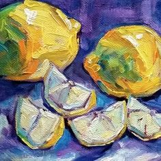 Search results for lemons, original paintings by the dedicated artists of DailyPainters.com
