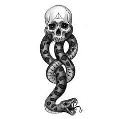 The dark mark 🤟🏼💀🐍 . Harry Potter Dark Mark, Images Harry Potter, Harry Potter Art, Harry Potter Fandom, Harry Potter Tattoos, Harry Potter Drawings, Dark Mark Tattoos, Small Tattoos, Death Eater Tattoo