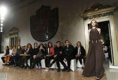 Fashion-Week Mailand: Mode von Emilio Pucci. Mehr zur Mailänder Modewoche: http://www.nachrichten.at/nachrichten/society/Generationswechsel-auf-Italienisch;art411,1314605 (Bild: Reuters)