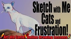This snuggly cuddly cutie is the perfect thing to draw on a card or give as a gift. I will show you step by step how to draw this kitty cat for yourself. Drawing Lessons, Drawing Techniques, Dealing With Frustration, Sketch Paper, Online Drawing, Pictures To Draw, Cat Art, Pencil Drawings, Cat Sleeping