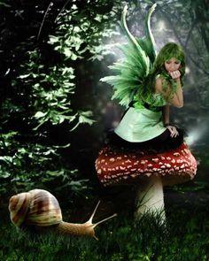 Elfen- und Feengedichte - Elves and Fairies poems