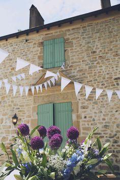 Frans landhuis als decor voor jouw bruiloft. Wauw! //Foto: Elise Drenthe van Lola's Events