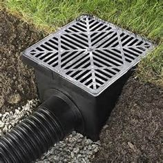Using pvc pipe for garden drainage - Bing images